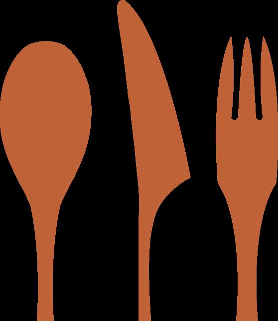 orange-forks
