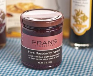 frans rasberry sauce